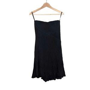 Vintage Maria Bianca Nero Y2K Black Tube Dress